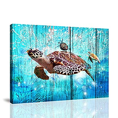 BYXART Sea Turtle Gifts Kids Room Decor for Gir...
