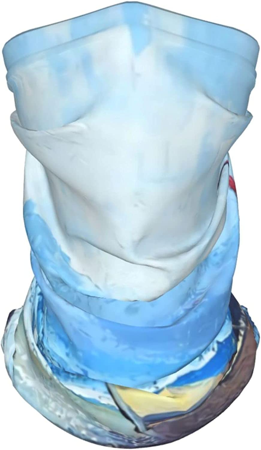 Abstract Pattern6 Neck Gaiter Multipurpose Headwear Ice Silk Mask Scarf Summer Cool Breathable Outdoor Sport 2 PCS
