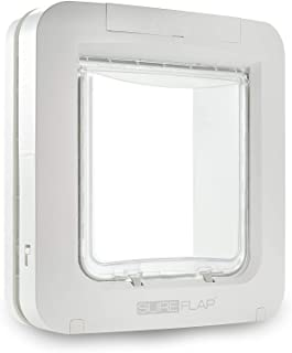 SureFlap Microchip Pet Door, White (4 x C Batteries Required)