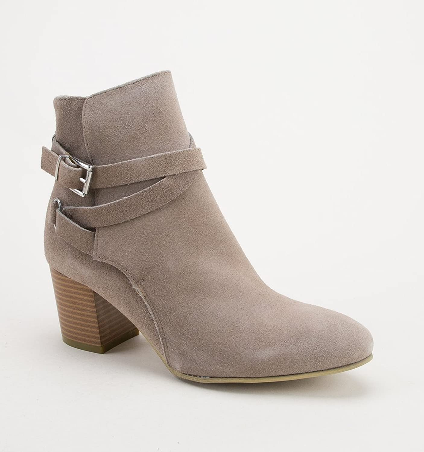 Divaz Womens Arianna Ankle Boot with Heels Taupe Size UK 5 EU 38