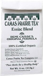 Solaray Camas Prairie Tea Organic Essiac Blend, Flakes, Unflavored (Packet) | 4oz