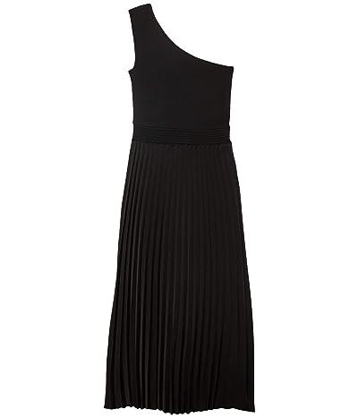 Ted Baker Miriom Asymmetric Knitted Midi Dress (Black) Women