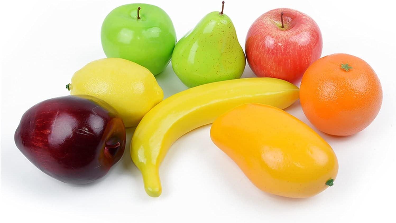 JSJJEDC Artificial Fruit free shipping 8PCS Simulation Indianapolis Mall Fruits Ornam