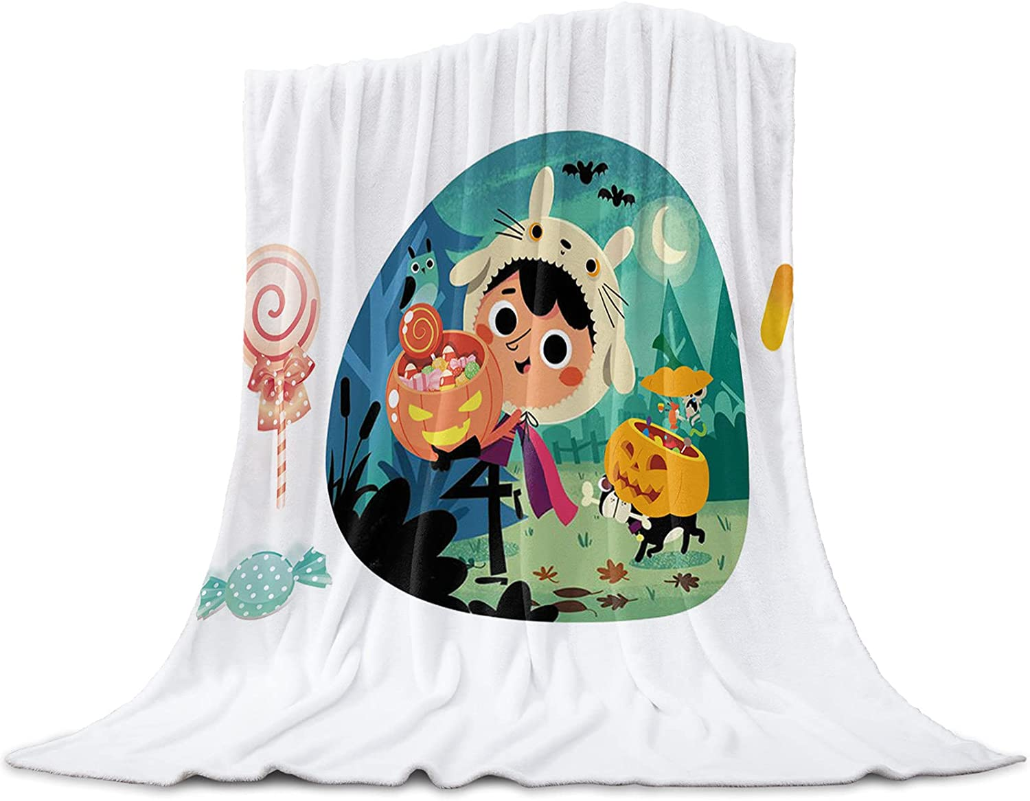 Fantasy Staring Throw Blanket for Bed x Inche Couch Great Quantity limited interest 59 49 Cartoo