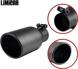 LIMICAR Black Exhaust Tip 2.5