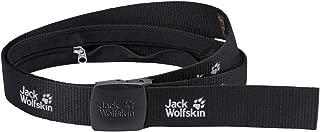 [ジャックウルフスキン] Jackwolfskin シークレットベルトワイド(マネーベルト)¥2,808 (#6000 ブラック)