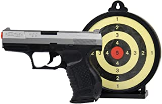 Walther P99 6mm BB Pistol Airsoft Gun Action Kit - Includes 100 BBs and Gel Target