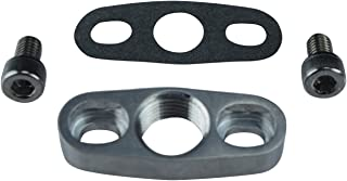 ICT Billet Heavy Duty GT15-GT35 Aluminum Turbo Oil Return Drain Flange T3 1/2npt GT25 GT30 HD National Pipe Thread Designed & Manufactured in the USA 551163
