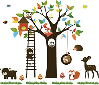 wall sticker tree owl