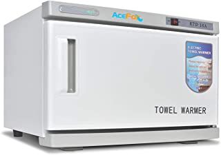 Mueble profesional para calentar toallas calientes, esterilizador UV 2 en 1, equipo de salón de spa facial para el hogar, de alta capacidad