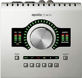 Universal Audio Apollo Twin USB Heritage Edition アナログ2イン/6アウト USB対応オーディオインターフェイス【国内正規品】