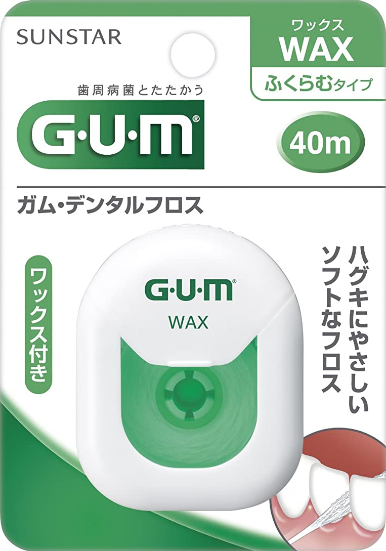 ところで有名な数学者GUM(ガム)?デンタルフロス (ワックス) 40m