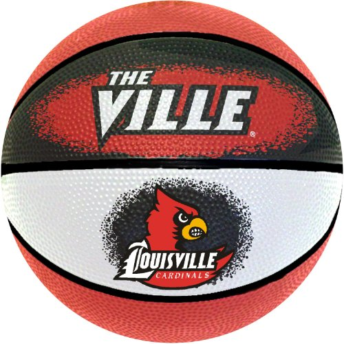 NCAA Louisville Cardinals Mini Basketball, 7-Inches