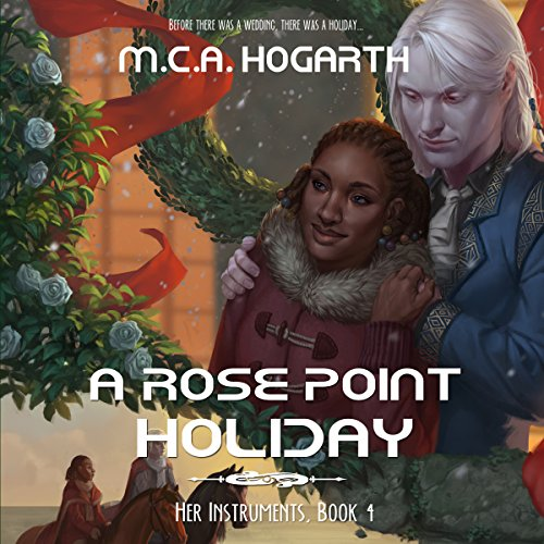 A Rose Point Holiday audiobook cover art
