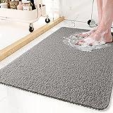 Non-Slip Bathtub Mat, Shower Mats for Bath Tub, PVC Loofah Bathroom Mats for Wet Areas, Quick Drying (17'x30')