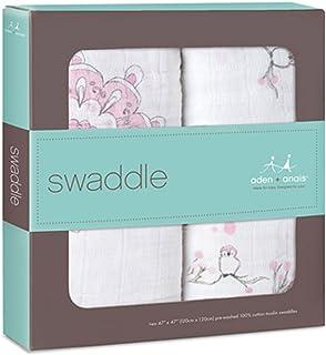 (エイデンアンドアネイ) aden+anais おくるみ スワドル aden+anis classic swaddle 2-pack フォーザバーズ