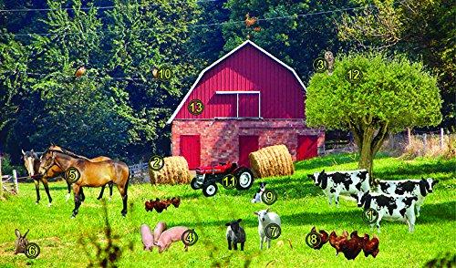 Recognition Farm Scene Gel Foam Pad