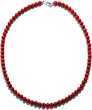 Best red coral bead necklace Reviews