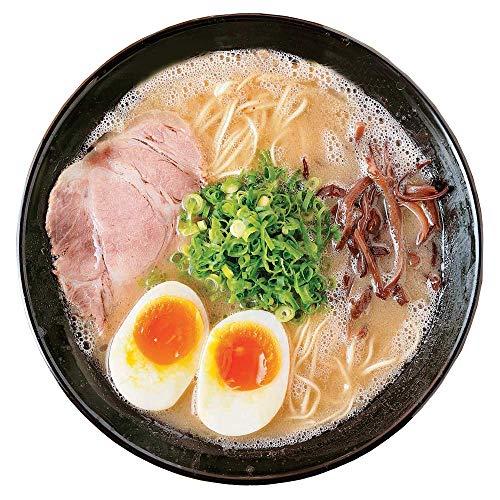 九州 博多長浜豚骨 とんこつ ラーメン黒浜 7人前 らーめん 半生麺 お取り寄せ ご当地 グルメ あっさりとんこつスープ