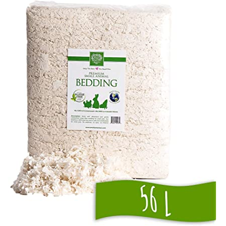 Small Pet Select Unbleached White Paper Bedding, 56 L, Model Number: SMWB