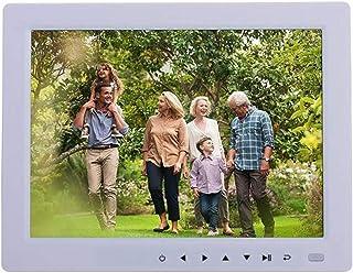 HUALEIYUAN AU 10 Inches HD Digital Photo Frame Desktop 1080P MP4 Video MP3 Audio EBook Clock Calendar Support Auto Play wi...