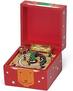 Mr. Christmas Pom Pom Music Box, Reindeer
