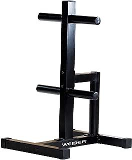 Weider WRACKO11 Olympic Sized Rack44; Black