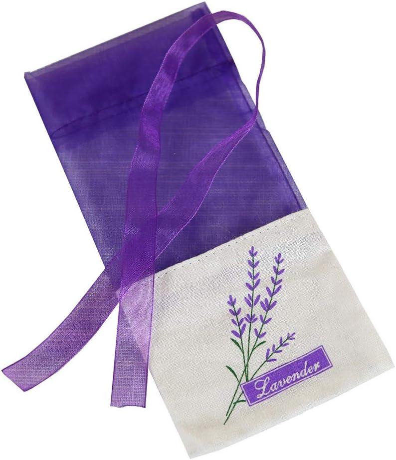 Vosarea 30pcs Empty NEW Sachets Bag Sachet Lavender Charlotte Mall Fragrance Pu