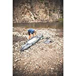Sevylor Quikpak K5 1-Person Kayak , Gray 18 5-minute setup lets you spend more time on the water Easy-to-carry backpack system turns into the seat 24-gauge PVC construction is rugged for lake use