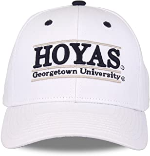 The Game Georgetown Hoyas Adult Gameday Bar Adjustable Hat - White,