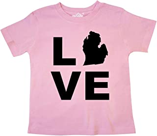 Love Michigan Toddler T-Shirt 21e55