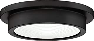 Quoizel TMN1612OI Terminal Industrial Flush Mount Ceiling Lighting, 1-Light, LED 17 Watt, Oil Rubbed Bronze (3