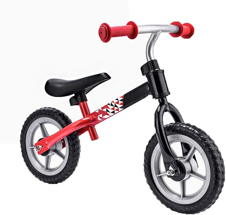 HFOUR Sport Balance Bike-Kinder First No-Pedal Bike 10 Zoll, für Kinder von 2-6