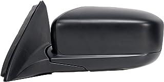 Fit System Driver Side Mirror for Honda Accord Sedan, Black, Foldaway, Heated Power