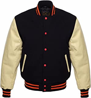 Best cream jacket with black leather sleeves Reviews