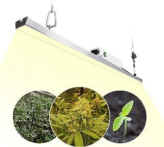 Lámpara LED para plantas, 300 W, 3,2 ft/1 m, luz para plantas, luz para plantas, espectro completo, lámpara de crecimiento para plantas de interior con placa LED Samsung Quantum de 140 3500 K