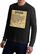 Neil Young Crazy Horse Greendale Men Sports Casual Style Long Sleeve T-Shirt