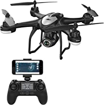 Potensic T18 GPS Drone, FPV RC Quadcotper with Camera 1080P Live Video, Dual GPS Return Home, Follow Me, Adjustable Wide-Angle Camera, Altitude Hold, Long Control Range -Black