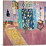 ARTCANVAS The Pink Studio 1911 Canvas Art Print by Henri Matisse - 26' x 26' (1.50' Deep)