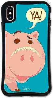 iPhone XS Max ケース どこでもくっつくケース WAYLLY(ウェイリー) アイフォンXS MAXケース 着せ替え 耐衝撃 米軍MIL規格 [WAYLLY/トイ・ストーリー ハム] セット MK