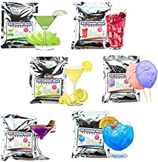 EZ Squeeze 6 Pack Sampler Jello Shot Mixes Makes over 200, 2oz Jello Shots – Natural Boom Gelatin – 6.78 oz. Each – Fun For All Occasions, Birthday Party,Bachelorette Party