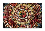 Dimensions - 16 X 24 Inches/ 41 X 61 Cms. Including additional blank border on sides. Eco Friendly Digital Reproduction - 100% Pure Cotton Canvas – 0% PVC/Plastic, 0% Flex. Specially designed only for Fine Art reproduction. Thickness - 370 GSM. Finis...