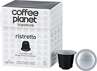Coffee Planet Ristretto Capsules Caffeinated Cappuccino - 10Packs/5g