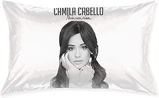 RhteGui Camila Cabello Comfortable Polyester Pillowcase/Pillow Slip/Cushion Case/Pillow Cove 30inchX20inch
