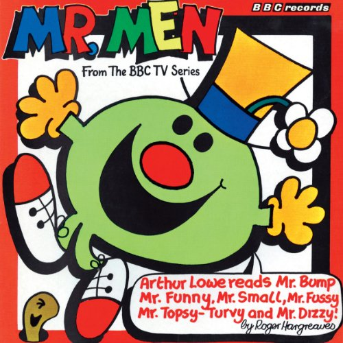 Mr Men audiobook cover art