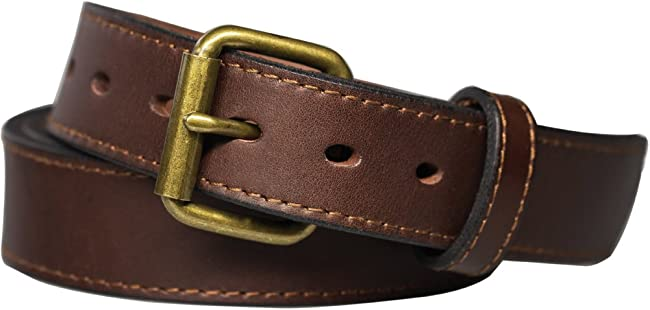 Kmioc Concealed Carry CCW Leather Gun Belt