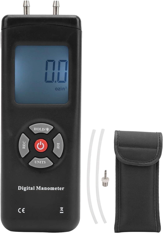 Eujgoov Digital Manometer TL-102 Gauge Pressure Air 5 ☆ popular Elegant Dif