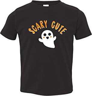 UGP Campus Apparel Scary Cute - Funny Adorable Halloween Ghost Toddler T Shirt