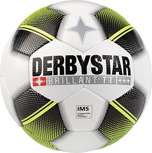 Derbystar Brillant TT HS, 5, weiß schwarz gelb, 1294500125