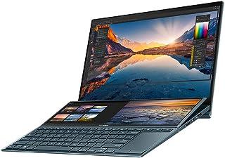 "ASUS ZenBook Duo UX482EG 14"" Full HD 400nits Dualscreen Touchscreen Laptop (Intel i7-1165G7, NVIDIA GeForce MX450, 16GB RA..."